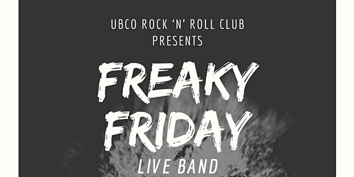 Rock 'N' Roll Club FREAKY FRIDAY