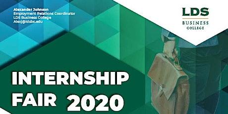 LDS Business College Internship Fair 2020 tickets