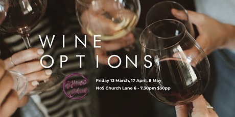 Wine Options at No5 tickets