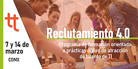 Reclutamiento 4.0 boletos