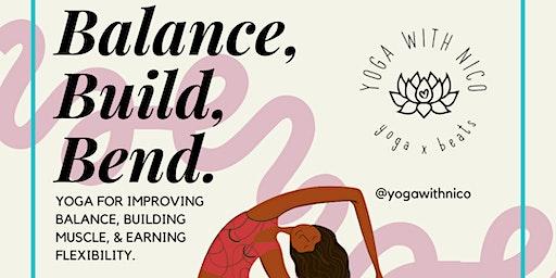 Balance, Build, Bend Yoga