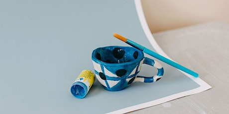 School Holidays Pottery Hand Building- Mug Making  Class (6 - 12 Years) tickets