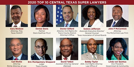 2020 Black Business Journal Top 10 Lawyer Awards Reception tickets