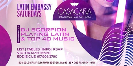 LATIN EMBASSY SATURDAYS LEAP YEAR PARTY AT CASA CANA tickets