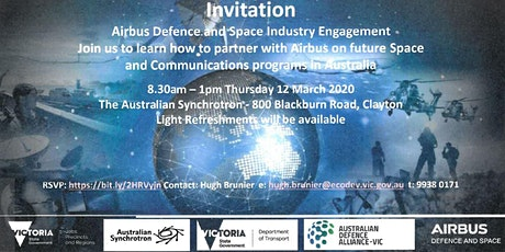 Airbus Defence and Space Industry Engagement Session  tickets
