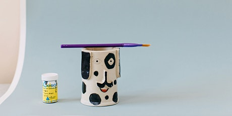 School Holidays Pottery Hand Building- Stationary Holder (6 - 12 Years) tickets