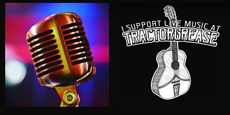 Open Mic at Tractorgrease Cafe tickets