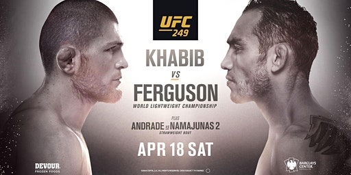 UFC 249: Khabib vs. Ferguson at Red Bar and Lounge