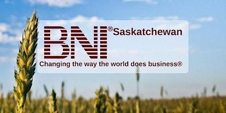Saskatoon's Newest BNI Chapter - Networking Group Info Luncheon tickets