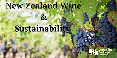 New Zealand Wine & Sustainability tickets