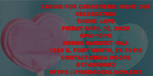 Caring for Caregivers Night Out Celebration