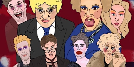 """Caberet show""""BORIS IS DEAD"""" by tory d'stain and the kinky boys tickets"""