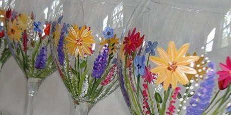 Spring Wine Glass Painting Event tickets