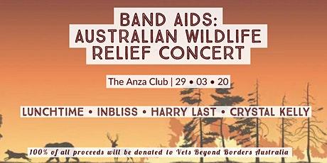 Band Aids: Australian Wildlife Relief Concert tickets