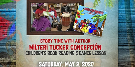Bomba Puertorriquena! Story time with Milteri Tucker Concepción tickets