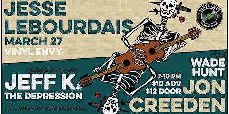 Jeff K & the Depression // Jesse LeBourdais (Van) & Friends ~ at Vinyl Envy tickets