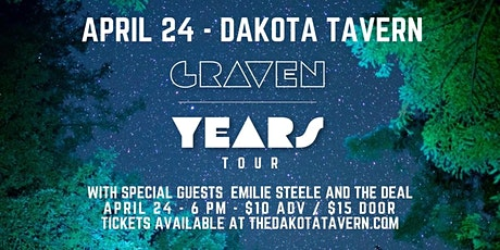 Graven and The New Band (w Emilie Steele and The Deal) tickets