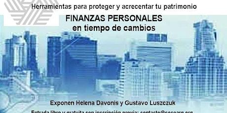 FINANZAS PERSONALES EN TIEMPO DE CAMBIOS entradas