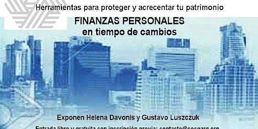 FINANZAS PERSONALES EN TIEMPO DE CAMBIOS