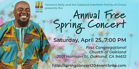 2020 Free Spring Concert + Mass Choir Workshop tickets