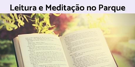 Leitura e Meditação no Parque ingressos