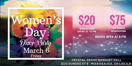Women's Day Party in Mississauga tickets