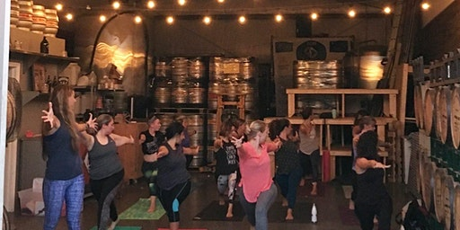 Bends and Brews, Happy Hour Yoga