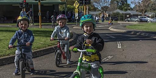 Little tikes on bikes - Wednesday
