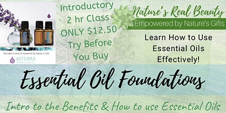 Essential Oil  Foundations  Class tickets
