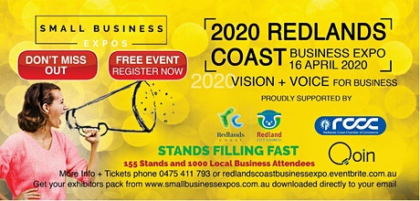 Postponed * Redlands Coast Business Expo tickets
