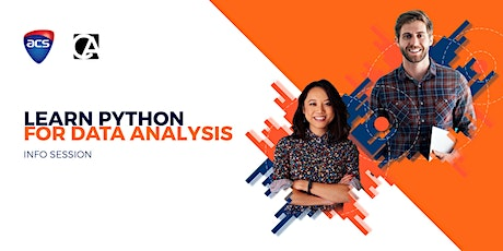 Free Information Session: Learn Python for Data Analysis (Online) tickets