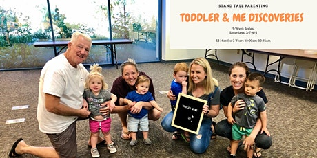 Toddler and Me Discoveries (13-36 Months) tickets