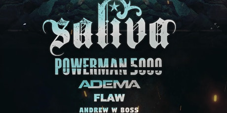 Nu- Metal Revival Tour- featuring Saliva, Powerman 5000, Adema, and Flaw tickets