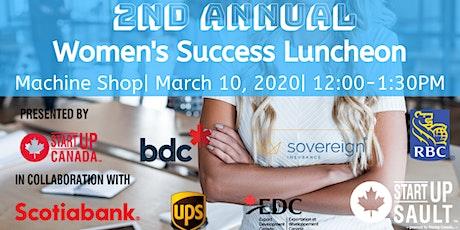 Women's Success Luncheon tickets