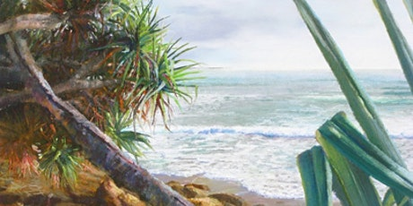 1/2 Day Workshop with Karol Oakley - Beach Escapes in Pastel Series 5 tickets