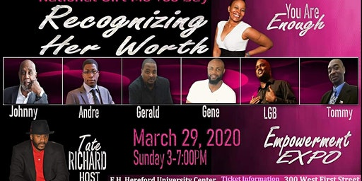 Recognizing Her Worth Girl, Me Too National Day Empowerment Expo