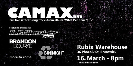 Camax Live tickets