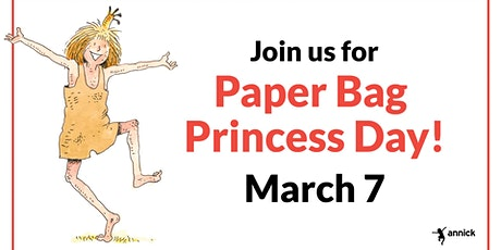 Paper Bag Princess Day tickets