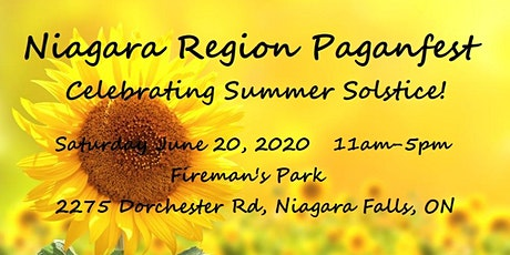 Niagara Region Paganfest - Celebrating Summer Solstice! tickets