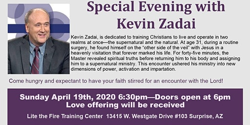 A Night of Ministry with Kevin Zadai