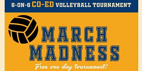 March Madness Co-Ed Volleyball Tournament tickets