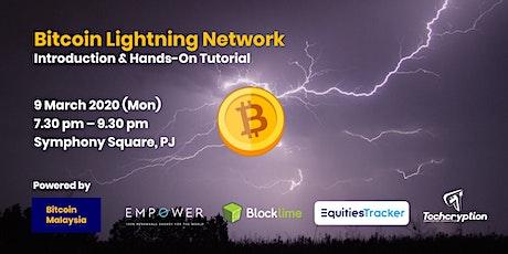 Bitcoin Lightning Network + Hardware Wallet Review Meetup tickets