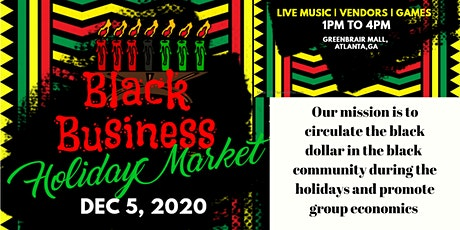 Black Business Holiday Market & Kwanzaa Celebration tickets