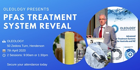 PFAS Treatment System Reveal - 9am tickets