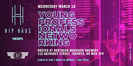 Young Professionals Networking by The Hip Haus - Mar 18th, 2020 tickets