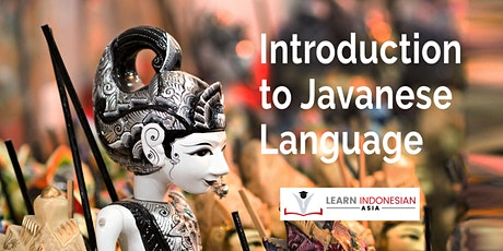 Introduction to Javanese Language and Culture tickets