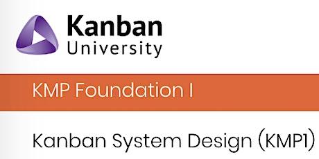 Kanban System Design (KMP1) by the beach tickets