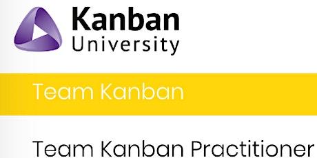 Team Kanban Practitioner by the beach tickets