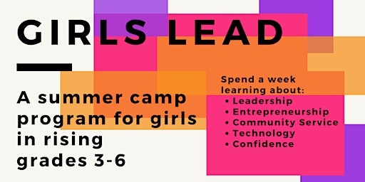 Girls Lead: Summer Camp Edition