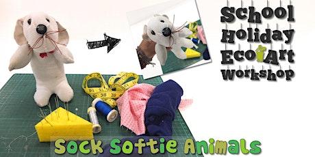 Sock Softie Animals : Children's Eco Art Workshop tickets
